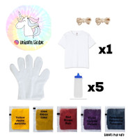 Tie Dye Kit dengan Kaos Remaja 10-14T