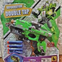 Mainan Tembakan Robot Deformation Double Tap