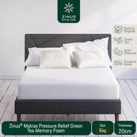 Zinus® Kasur 20cm Green Tea Memory Foam - Ukuran King