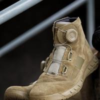 Sepatu PDL Tactical TNI Polri Boa Parabellum Midtrack Original