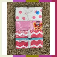 Sleepsuit Tutup Kaki Motif Cewek 3 In 1 / Baju Tidur Bayi / Piyama