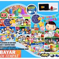 Flashdisk Video edukasi Anak Pintar 32 GB BADANAMU COCOMELON FREE OTG