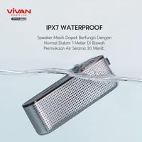 VIVAN Speaker Bluetooth HI-Fi Waterproof IPX7 10W Mega Bass VS10