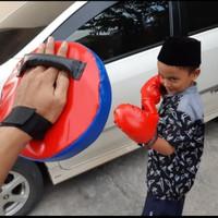 Set Pad Target Samsak Anak - Mainan Olahraga Tinju Anak - Sarung Tinju