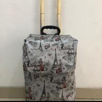 Tas trolley bag. Tas belanja. Tas serbaguna - Paris