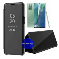 Flip Cover Samsung Galaxy Note 20 Clear View Mirror standing Case
