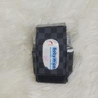 TECHNOZIO Tempat Tissue Pouch Mini 5 In 1 Motif Skak