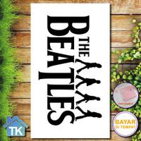 Hiasan Dinding The Beatles / Dekorasi Rumah / Hiasan Kamar Cafe