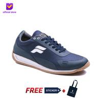 Sepatu Pria Sneakers Signature Footstep Footwear - Fusion V2 Navy