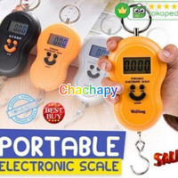 Timbangan gantung digital portable scale 50KG