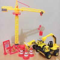 Mainan Crane Builder Konstruksi - Mainan Set Konstruksi Bangunan