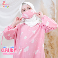 DRESS ANAK CLAUDY - Longdress Anak Gamis Anak Terbaru MiuLan Original