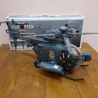 Mainan Helikopter Bump N Go - Mainan Helikopter Black Hawk Bump Go