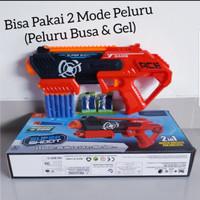 Mainan Pistol Tembakan Water Bullet Guns - Mainan Pistol Peluru Busa