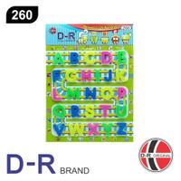 D-R 260 Mainan Edukasi Abjad A - Z