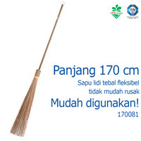 Sapu Kebun Sapu Lidi Gagang Berkualitas 170081 cleanmatic Sapu Taman