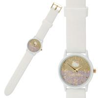 Jam Tangan Hello Kitty Japan Impor Silicon Belt Watch Gradient glitter
