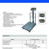 Timbangan Digital 300 kg 300kg 300 kilogram 300kilogram