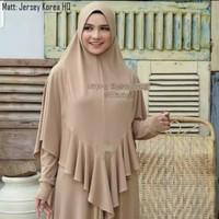 Jilbab instan Syari Jersey Korea ITY HQ Model AFIRA Bergo Antem