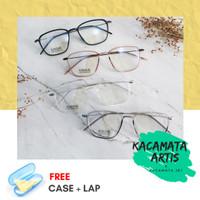 Frame kacamata Shelena pria wanita - free lensa minus / silinder
