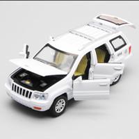 Diecast miniatur mobil Jeep grand 1:32 kualitas premium