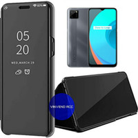 Flip Cover Realme C11 Clear View standing Case