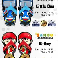 Sandal Karakter Anak Lucu Sandal Sancu - 28, B Boy