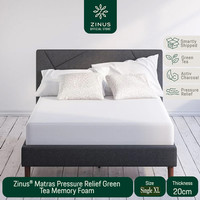 Zinus® Kasur 20cm Green Tea Memory Foam - Ukuran Single XL