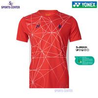 New Limited Kaos / Jersey Yonex Lindan Edition 1808 COC Fiery Red