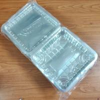 MIKA PLASTIK 1A - MIKA BOX KEMASAN KUE ISI 50 PCS