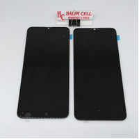 LCD TOUCHSCREEN SAMSUNG GALAXY A20 A205 OLED 2 ORIGINAL - Hitam