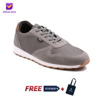 Sepatu Pria Sneakers Footstep Footwear - Victory Grey