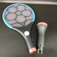 VDR raket nyamuk + senter charge V-701