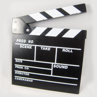 Clapper Movie Board Universal Studios / Clip Sutradara