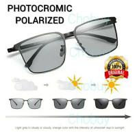Kacamata Hitam Polarized Photochromic Sunglasses Unisex 1902
