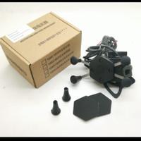 MOUNTING HOLDER HP X-GRIP HANDPHONE MOTOR + PORT USB CHARGER UNIVERSAL