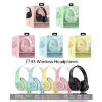 Headset - Headphone Bluetooth Bando Super Bass Macaron P33