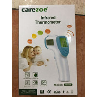 Thermometer Infrared Carezoe / Alat Cek Suhu Tubuh / Fitur Suara