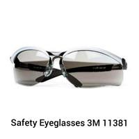 kacamata safety 3m BL antifog black lens