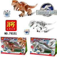 Lego Dinosaur World T-Rex Block Lele