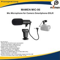 MICROPHONE MAMEN MIC-06 Shotgun Vlog Kamera & Smartphone