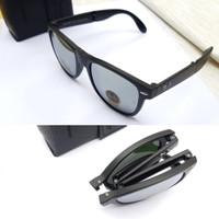 kacamata sunglasses pria mirror lipat