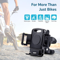 ESR Bike Phone Holder for Bicycles/Motorcycles - Black