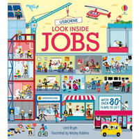 Usborne Look Inside Jobs. Buku Anak Import