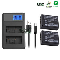 PAKET DUAL CHARGER LCD FOR FUJI NP-W126