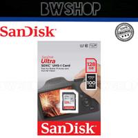 Sandisk Ultra SD 128GB - Memory Card Sandisk