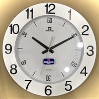 Jam dinding besar mirado original 40cm 8640 seiko sweep halus
