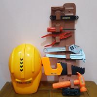 Mainan Set Alat Pertukangan - Mainan Tools Pertukangan
