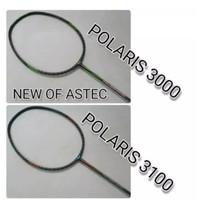 RAKET BADMINTON ASTEC POLARIS 3000 DAN 3100 ORIGINAL FRE GRIP ORIGINAL