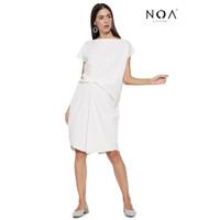 NOA everyday Midi Dress Wanita Muslim Casual Dress YOSHI Scooba Dress